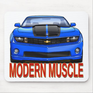 BLUE_FRONT_CAMARO.png Mouse Pad