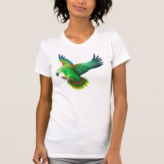 Blue Fronted Amazon Parrot Petite T-Shirt