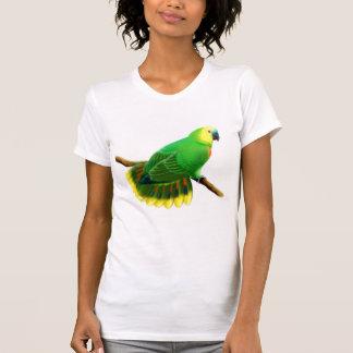 Blue Fronted Amazon Parrot Scoop Neck Tee
