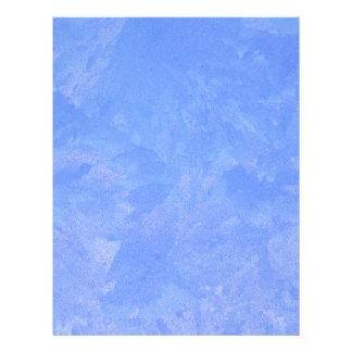 Blue Frost Custom Letterhead