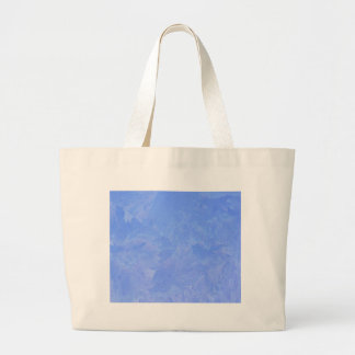 Blue Frost Large Tote Bag