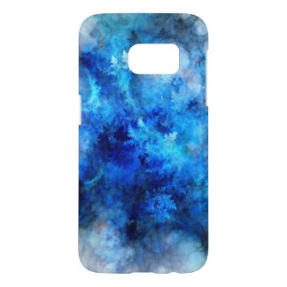 Blue Frozen Samsung Galaxy S7, Barely There Samsung Galaxy S7 Case