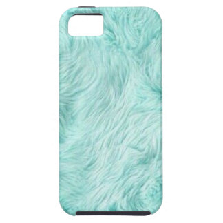 Blue Fuzzy Pattern iPhone 5 Case
