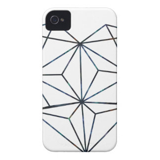 blue-galaky-geo-heart Case-Mate iPhone 4 cases