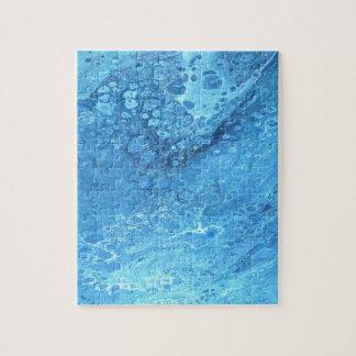 Blue Galaxy Jigsaw Puzzle