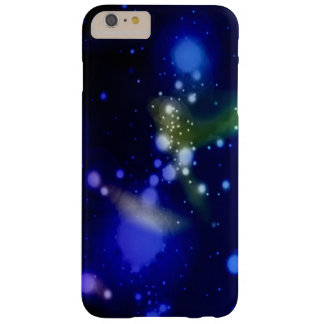 Blue Galaxy Nebula Stars Barely There iPhone 6 Plus Case