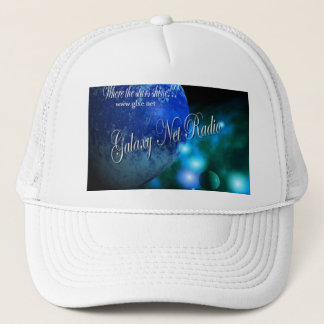 Blue Galaxy Net Radio Hat