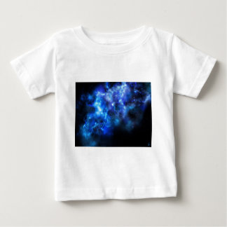 Blue Galaxy Print Baby T-Shirt