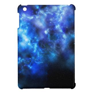 Blue Galaxy Print iPad Mini Cover
