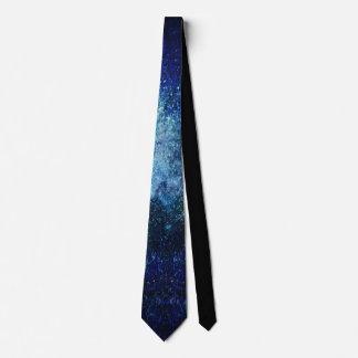 Blue Galaxy Tie