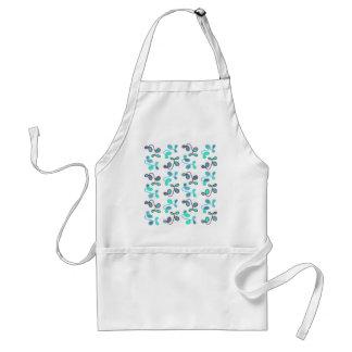 Blue garden standard apron