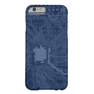 Blue Geek Motherboard Circuit Pattern Barely There iPhone 6 Case