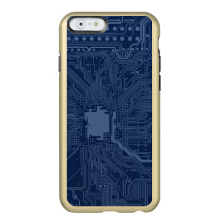 Blue Geek Motherboard Circuit Pattern Incipio Feather® Shine iPhone 6 Case