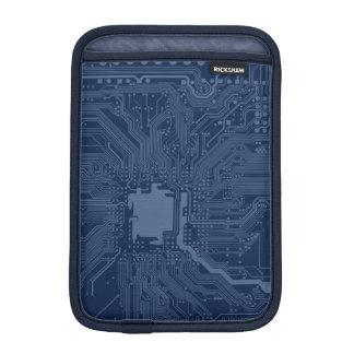 Blue Geek Motherboard Circuit Pattern Sleeve For iPad Mini