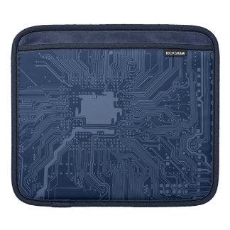 Blue Geek Motherboard Circuit Pattern Sleeves For iPads