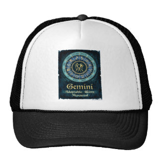 Blue Gemini Collage Trucker Hat