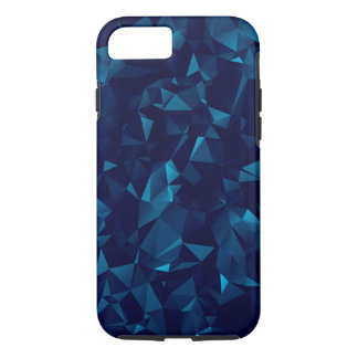 Blue Geometric iPhone 8/7 Case