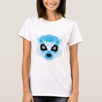 Blue geometric lemur T-Shirt