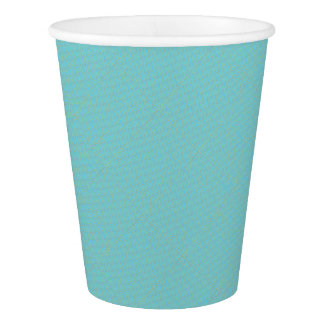 Blue Geometric Minimalist Party Supply Paper Cup
