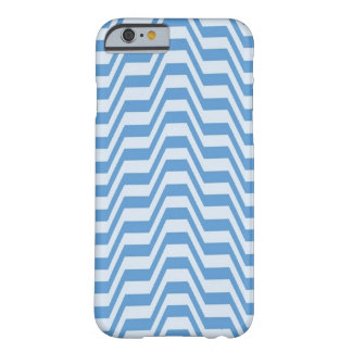Blue Geometric Pattern Barely There iPhone 6 Case