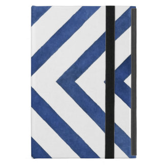 Blue Geometric Pattern Case For iPad Mini