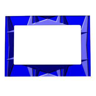 Blue Geometry Magnetic frame