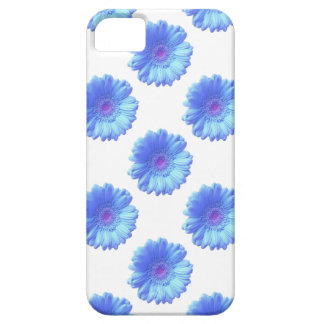 Blue gerbera daisy case for the iPhone 5