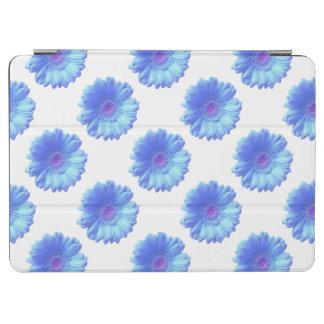 Blue gerbera daisy iPad air cover