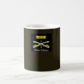 Blue Ghost Crossed Sabers Coffee Mug