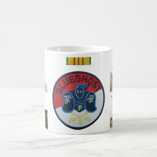 Blue Ghost patch and platoons mug