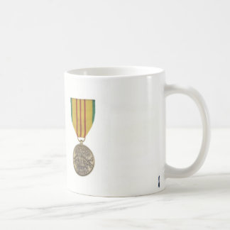 Blue Ghost Patch and Service Medal Coffee Mugs