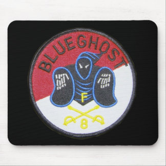 Blue Ghost unit patch mouse pad