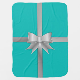 Blue Gift Box Blanket