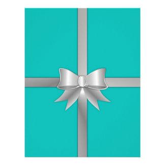 Blue Gift Box Letterhead
