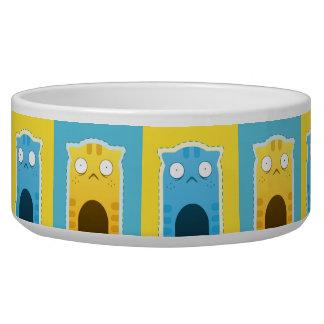 Blue Ginger Cat Pet Bowl