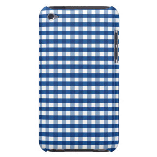 Blue Gingham Barely There iPod Case