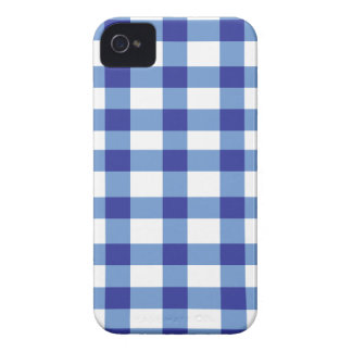 Blue Gingham iPhone 4 Covers