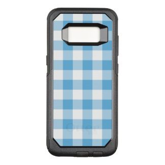 Blue Gingham OtterBox Commuter Samsung Galaxy S8 Case