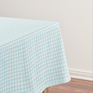 Blue Gingham Tablecloths