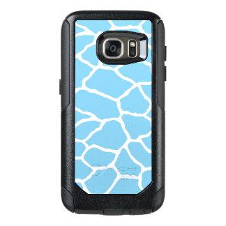 Blue Giraffe Print OtterBox Galaxy S7 Case