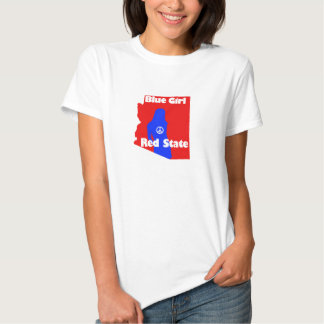 Blue Girl in a Red State - Arizona Shirts