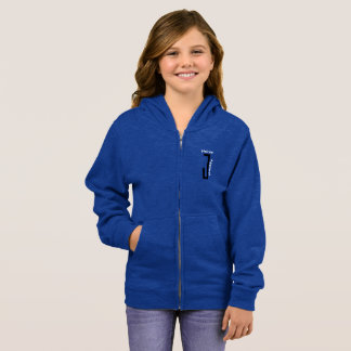 Blue girls NeiceeJ Apparel sweat jacket
