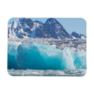 Blue glaceir ice, Norway Magnet