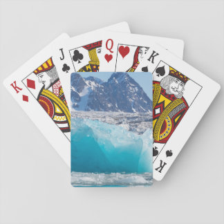Blue glaceir ice, Norway Playing Cards