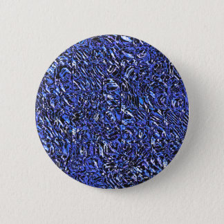Blue Glass Abstract 2 Inch Round Button