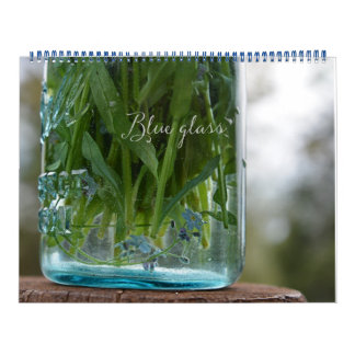 Blue Glass calendar