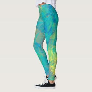 Blue Glass Leggings
