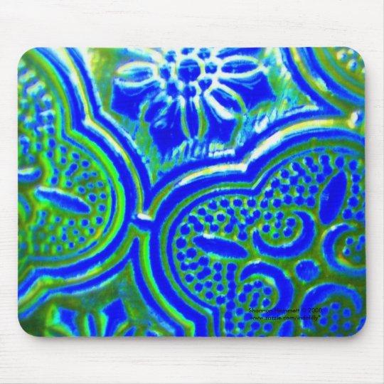 Blue Glass Mousepad