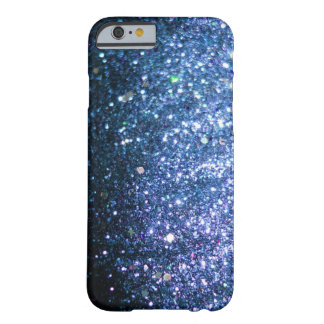 Blue Glitter Bling Cover iPhone 6 case Barely There iPhone 6 Case