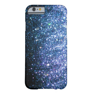 Blue Glitter iPhone 6 case sparkle